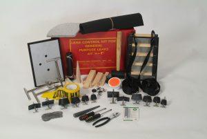 FAS Technologie levert een leak control kit, onmisbaar in elke brandweerauto